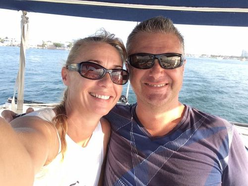 Up to $20 million in drugs were allegedly found on the yacht Shenanigans, owned by disgraced horse trainer John Nikolic and his wife Yvette. Picture: Facebook