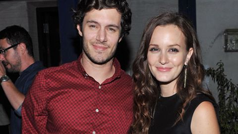 Cute alert: Leighton Meester and Adam Brody are an item