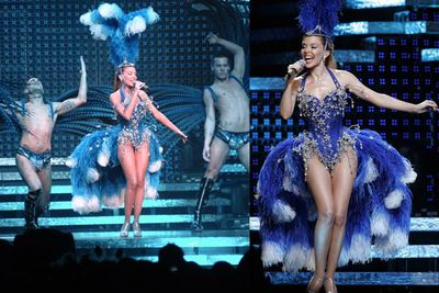 <i>Showgirl</i> tour (2005)<br/><br/>Images: Scope/Getty