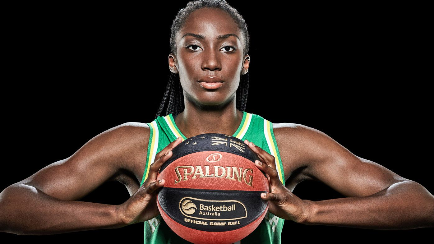 Exi Magbegor has been turning heads in basketball since she was a teenager