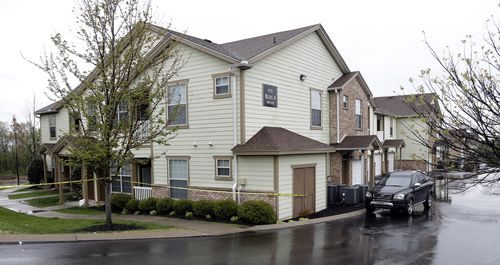 Police have cordoned off Reinking's home in Nashville. (AAP)