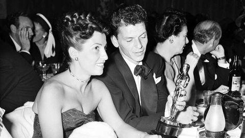 Nancy and Frank Sinatra. (AAP)