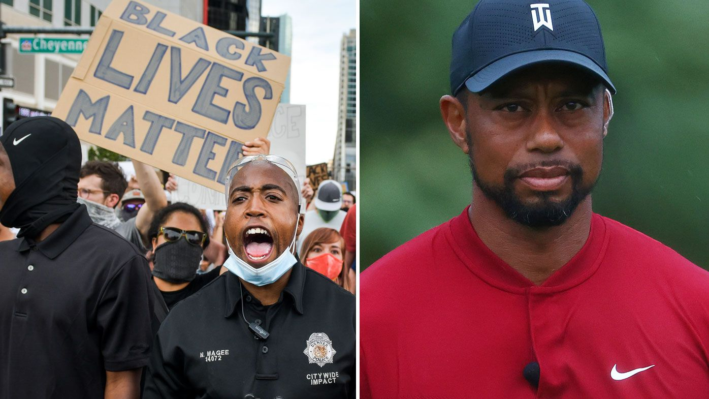 Tiger Woods calls George Floyd's death a 'shocking tragedy'