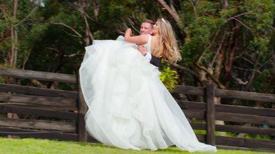 MAFS 2021 Georiga Liam wedding day photoshoot