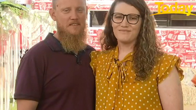 The pair were chosen for the world's first KFC wedding.