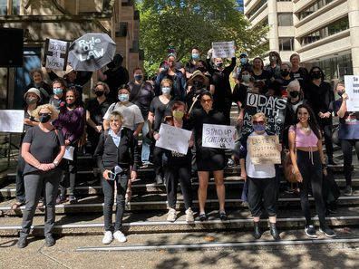 Women's March 4 Justice in Sydney
