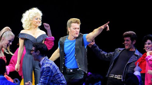 Natalie Bassingthwaite and Craig McLachlan had roles in Grease in 2005. (AAP)