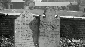 New photo exhibition tells stories of Sydney's past through graveyard