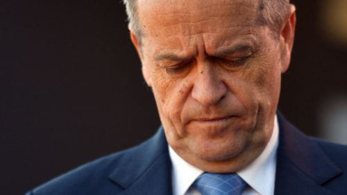 Bill Shorten and Labor have slipped in the polls after the tax cut backflip. (AAP)
