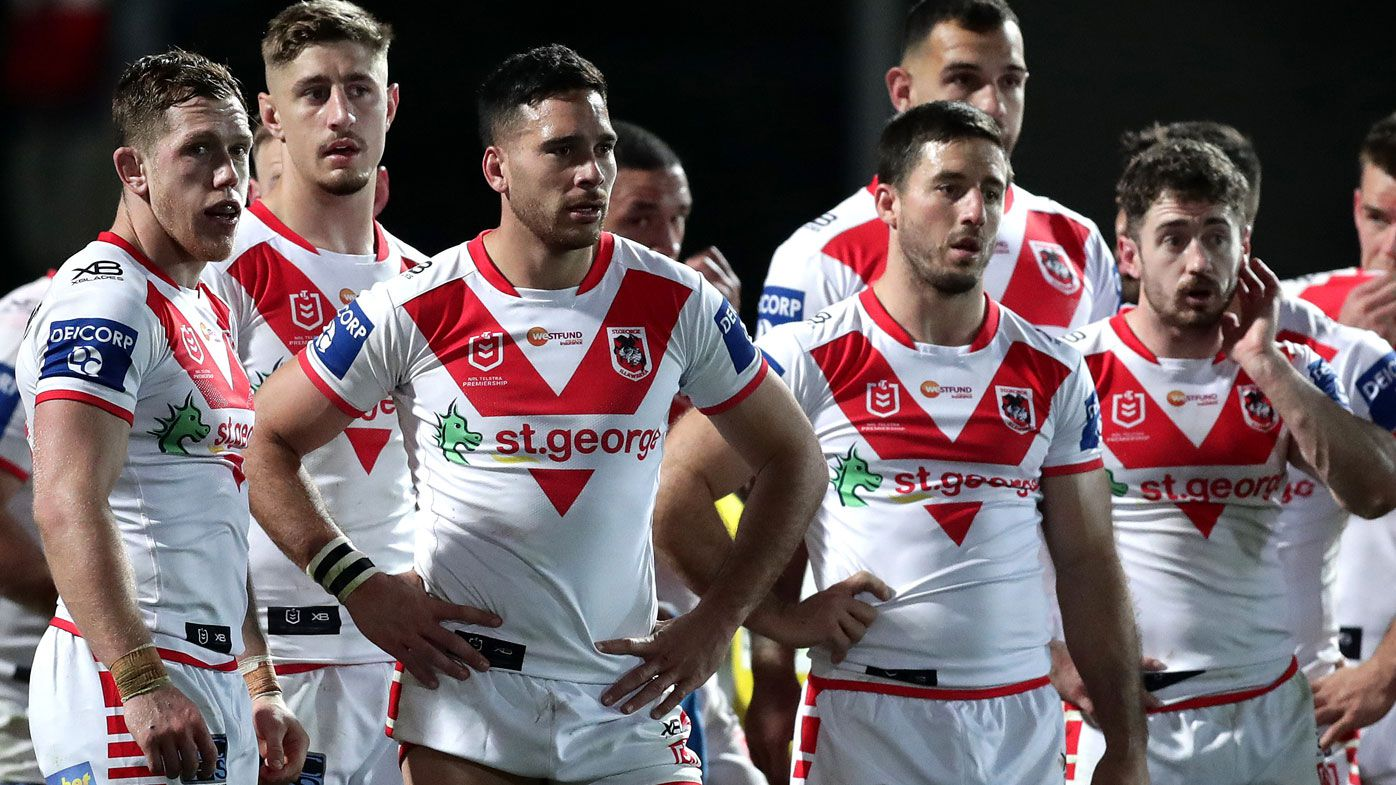 'Pisses me off': Dragons finals hopes in tatters after last-ditch Titans comeback