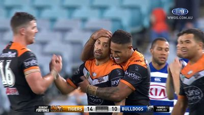 Josh Reynolds gets revenge as Wests Tigers beat Canterbury Bulldogs