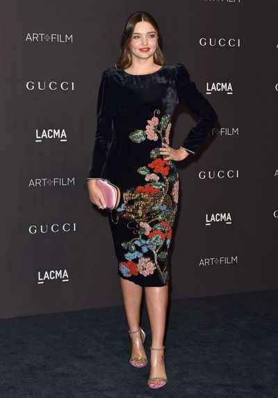 Model Miranda Kerr at the 2018 LACMA Art + Film Gala in Los Angeles, November, 2018