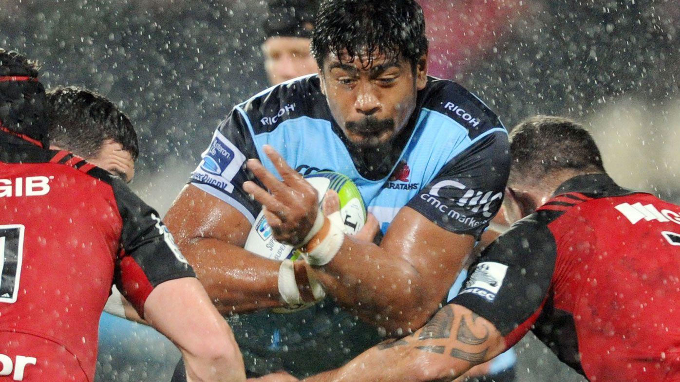 Crusaders end Waratahs' Super Rugby run