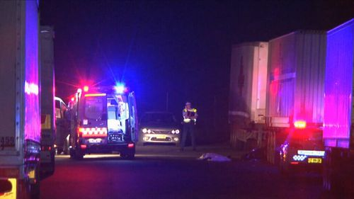 Emergency services were called to Tyrone Place where they found a 13-year-old boy deceased on the road. (Supplied)