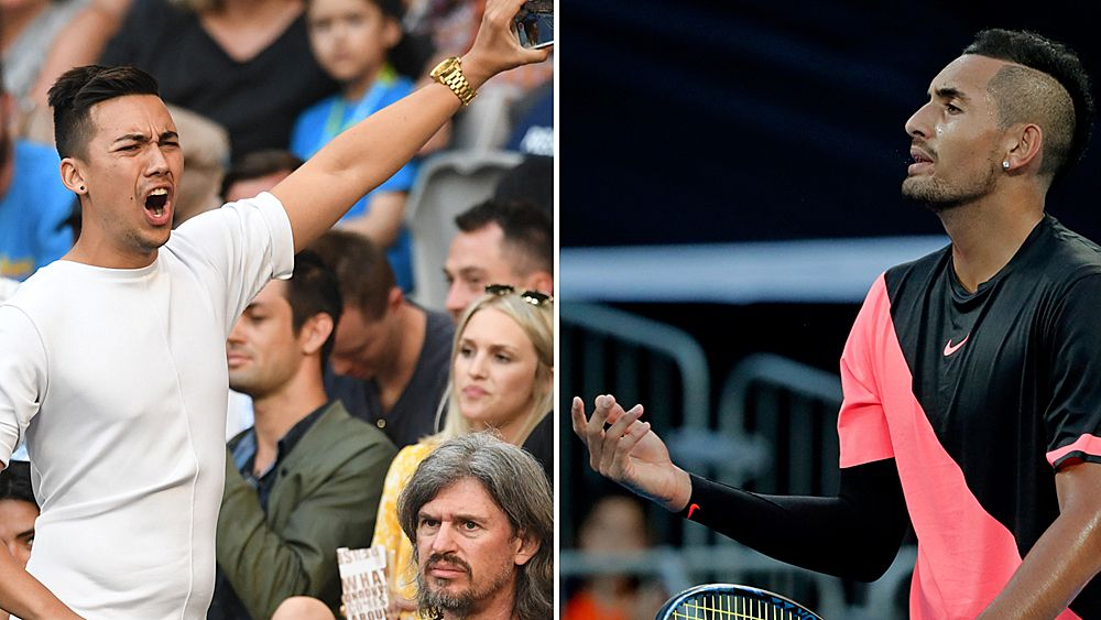 Kyrgios to square off with childhood hero