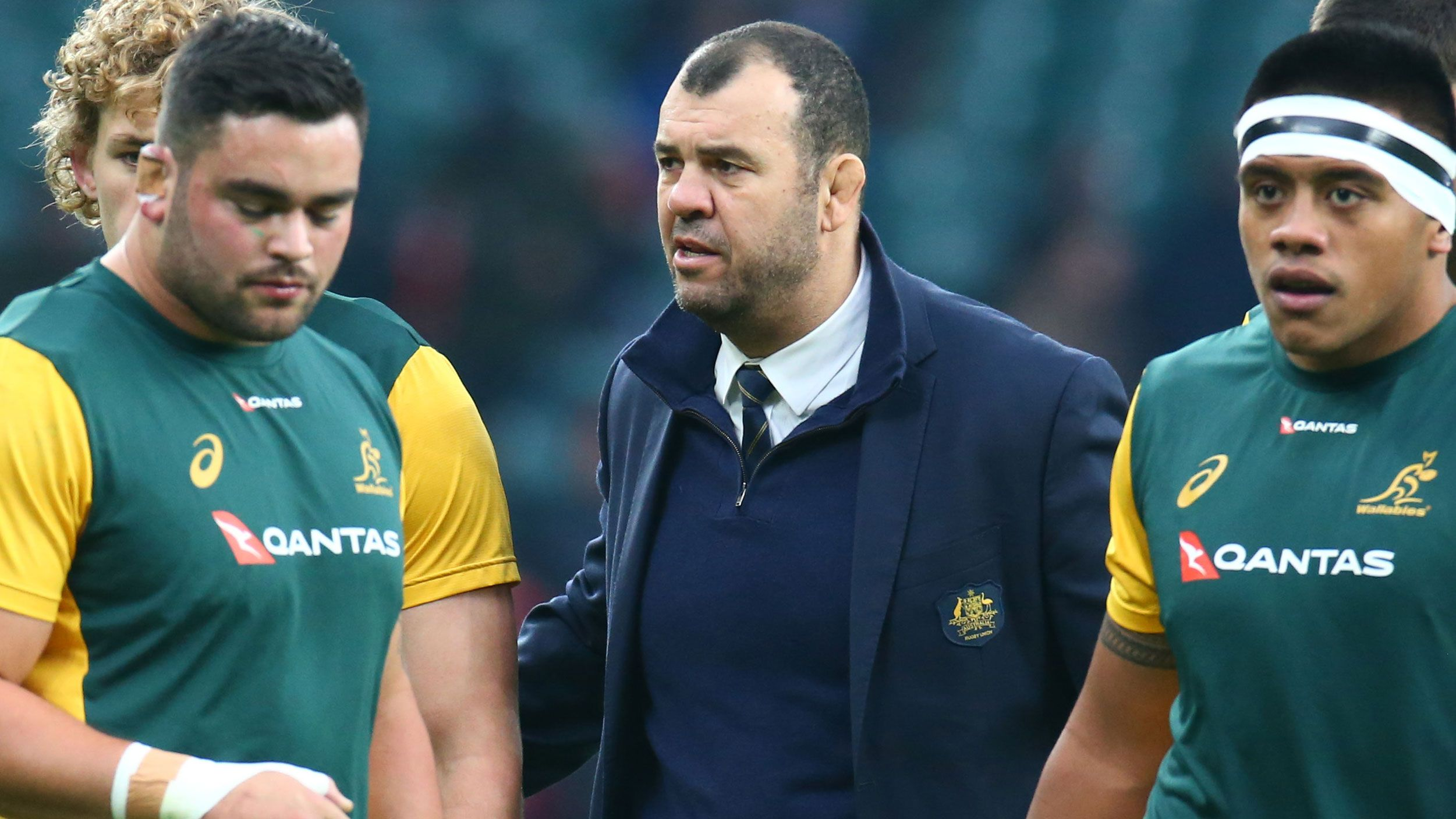 Wallabies coach Michael Cheika survives shake-up as Scott Johnson appointed