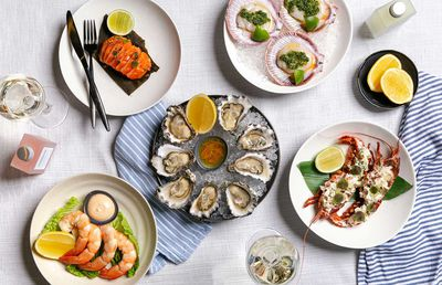 Flying Fish Seafood Platter