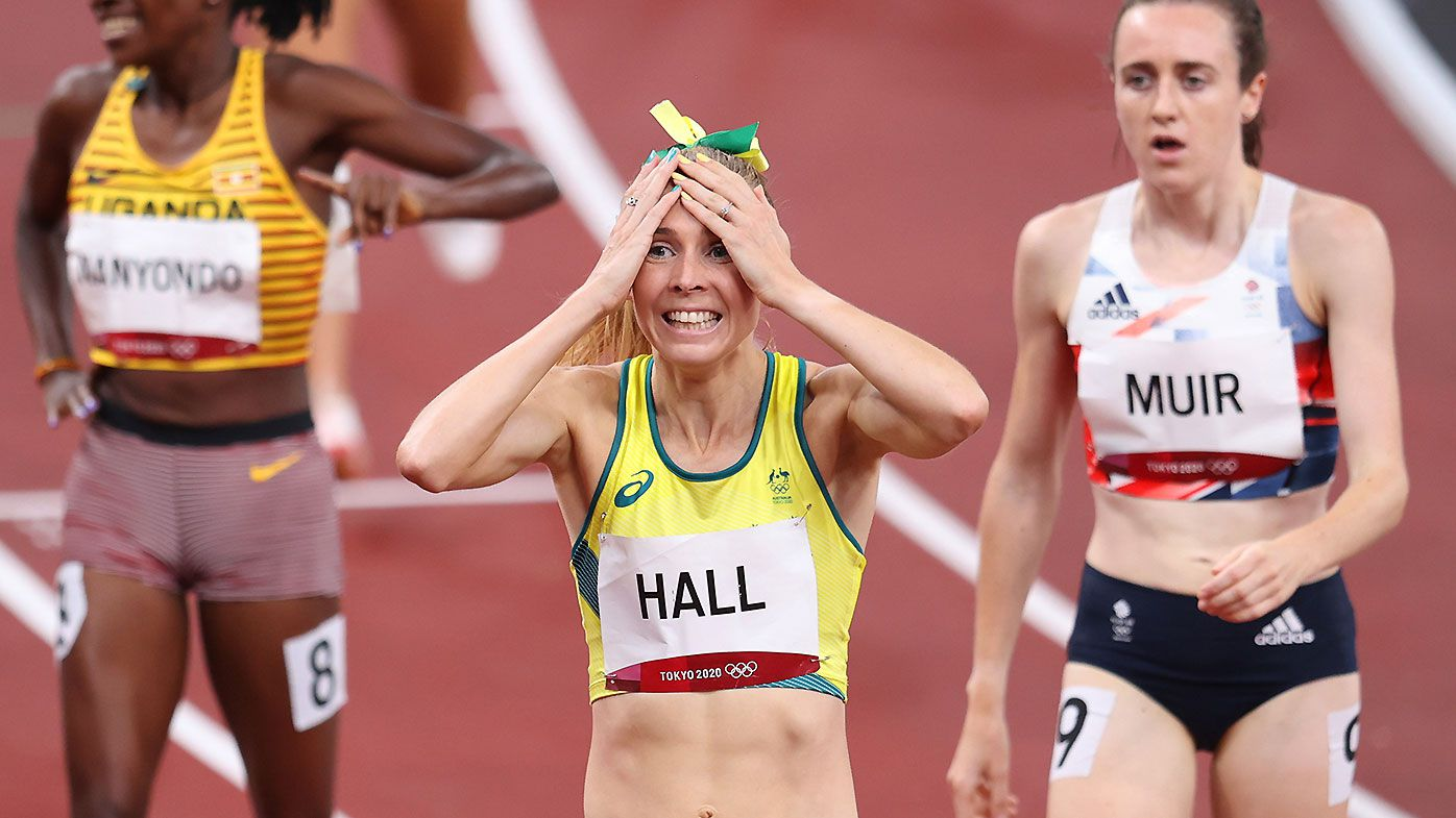 Two Aussies storm into final, national record broken