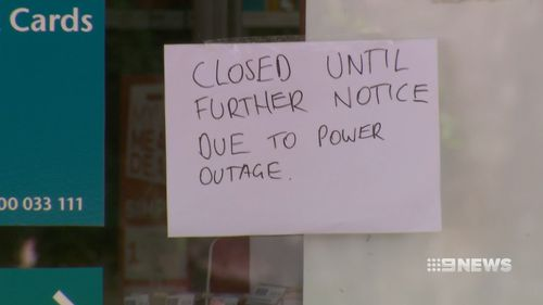 Power outages hit parts of the state as temperatures soared.