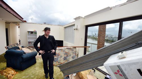 Our unit is like a bomb site: storm victim
