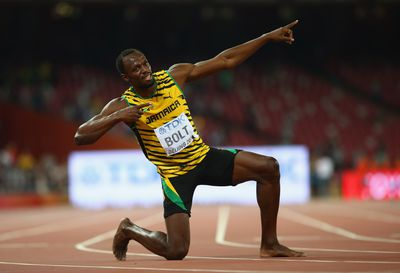 <strong>Usain Bolt, sprinter</strong>