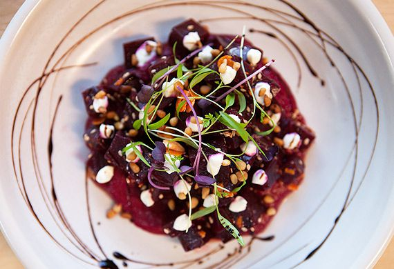 The Independent's roasted beetroot salad