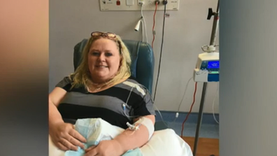 Sharyn underwent months of chemo and two surgeries.