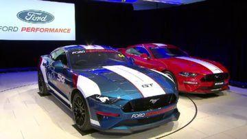 Ford returns to Supercars grid with new Mustang