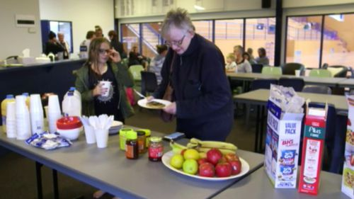 Several relief centres have been set up to assist those affected by the fires. (9NEWS)