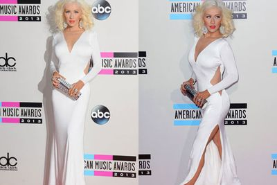 What a difference a year makes! Stealing the show in a slinky white number at the 2013 AMAs, it's reported that the star has lost 23 kgs in the last twelve months. <br/><br/>