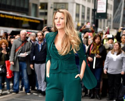 Blake Lively's Big Hair Don't Care
