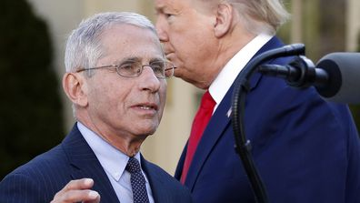 Dr Anthony Fauci has become one of America's most trusted people.