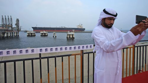The UAE is developing Fujairah with an eye to possibly avoid having to send crude oil through the Strait of Hormuz. Now suddenly, Fujairah is a target.