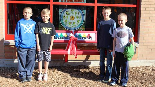 US school introduces 'Buddy Bench' to help make playground more inclusive for shy students