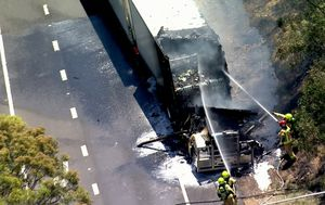 Truck fire causes traffic delays on Sydney motorway