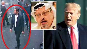 """President Donald Trump has threatened """"very severe"""" consequences if the Saudis are found to be responsible for the murder of Washington Post journalist Jamal Khashoggi."""