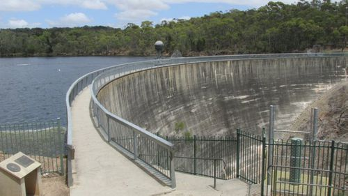 The Whispering Wall is an old dam wall in South Australia.