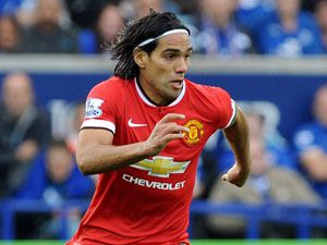 Manchester United striker Radamel Falcao. (AAP)