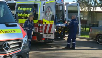 Teen stabbed at Sydney unit complex fighting for life