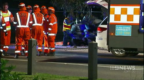 Police are investigating if drugs or alcohol were involved. (9NEWS)