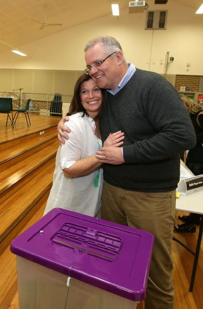 Jenny and Scott Morrison