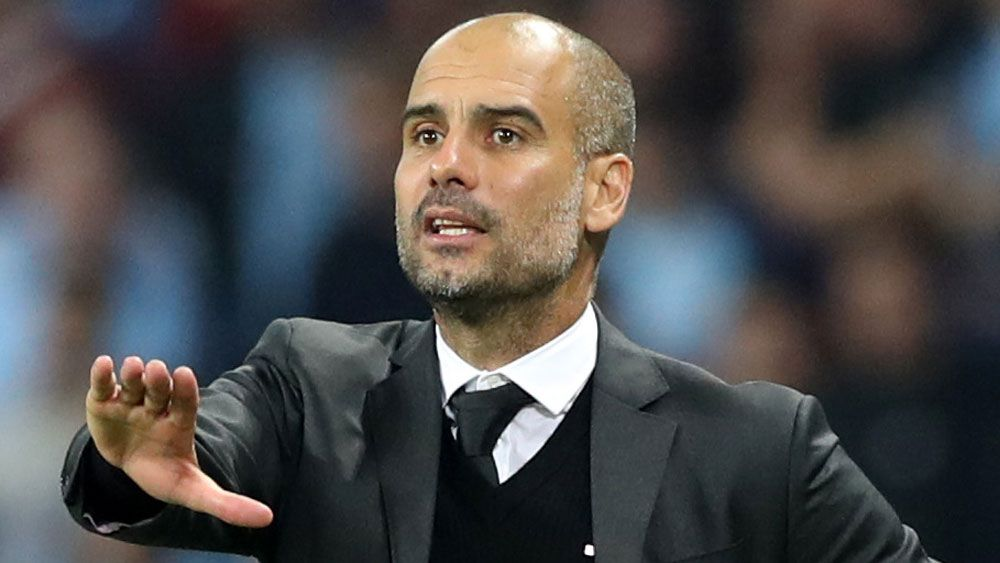 Pep Guardiola. (AAP)