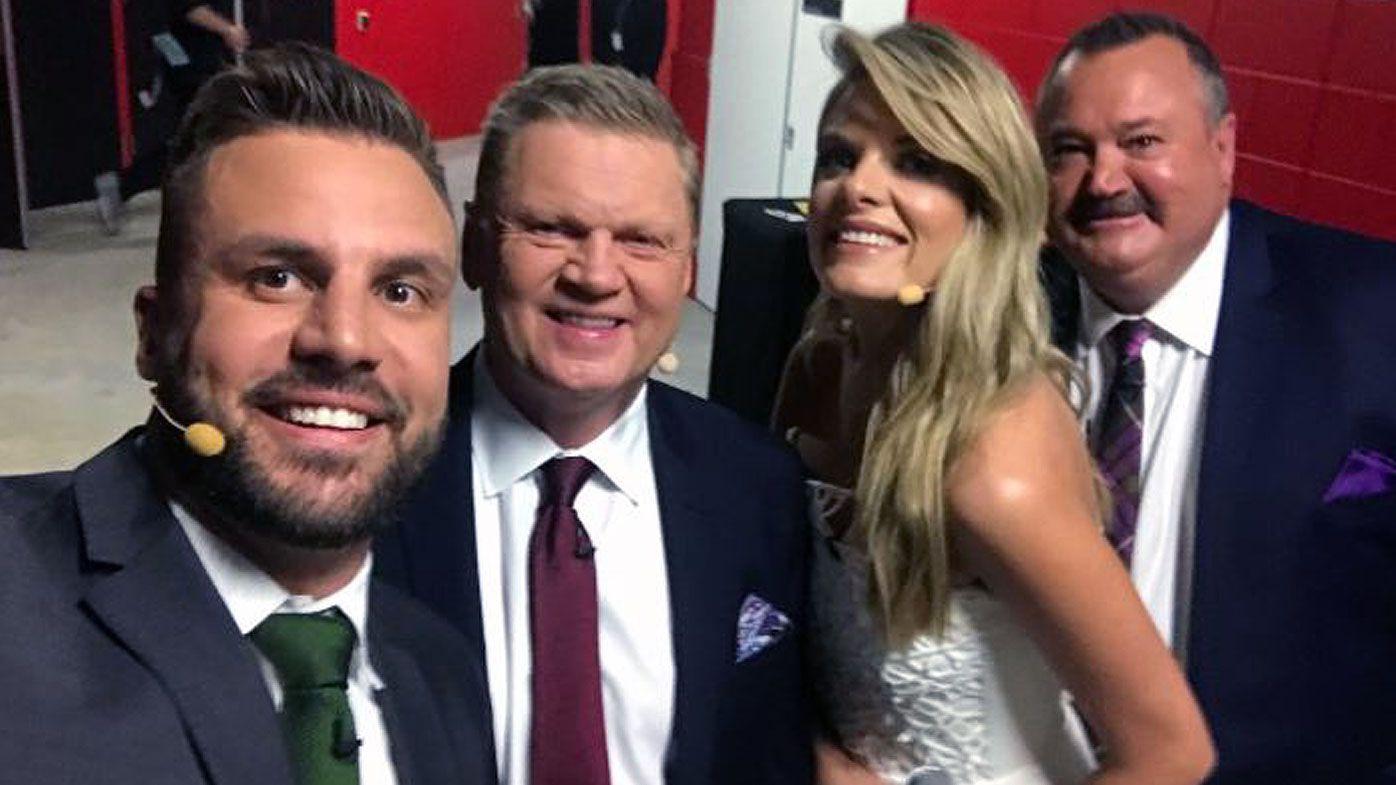NRL: Beau Ryan farewells Footy Show in trademark fashion