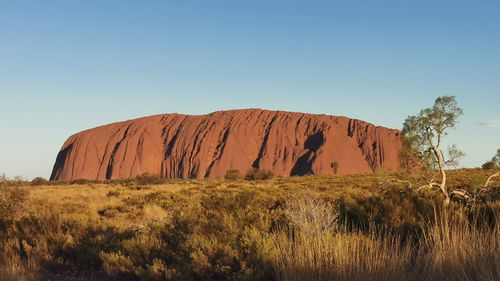 Man rescued after heart attack on Uluru