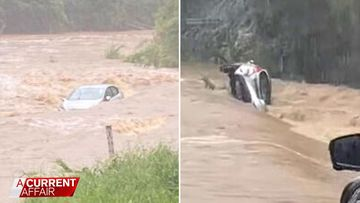 What really happened to the car swept away in flood