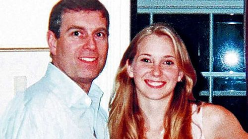 Prince Andrew and Virginia Roberts.