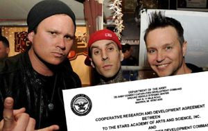 Former Blink 182 singer's UFO-hunting organisation lands six figure contract with US Army