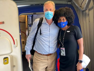 JacqueRae Hill - as she was known before her marriage to Rashard Sullivan this Memorial Day weekend - had a life-changing encounter with passenger Doug Parker on a 2020 flight, and their story went viral.