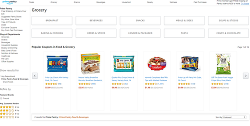 Amazon Pantry was introduced for Aussies last year.