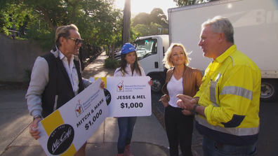 Jess and Norm bring a feel-good challenge to The Block
